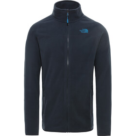 The North Face 100 Glacier Täysvetoketjullinen Pusero Miehet, urban navy